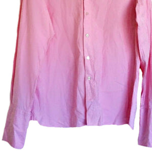 Ted Baker Shirt Pink Men Patterned Mens Archive Button Up Formal Work Size Large