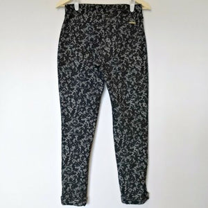 Michael Kors Trouser Lace Print Skinny Printed New Tregging Legging Size Small
