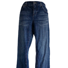 Load image into Gallery viewer, Tommy Hilfiger Jeans Flare Boot Cut Bootcut Blue Modern Rise Size Medium