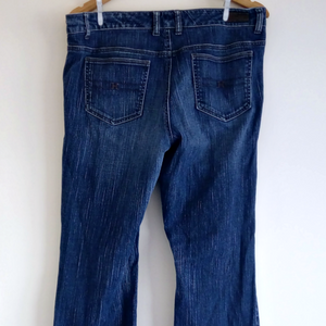 Tommy Hilfiger Jeans Flare Boot Cut Bootcut Blue Modern Rise Size Medium