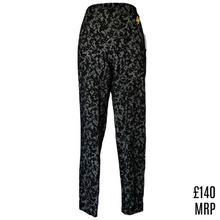 Load image into Gallery viewer, Michael Kors Trouser Lace Print Skinny Printed New Tregging Legging Size Small