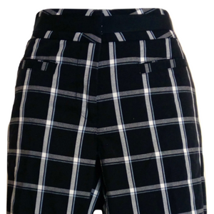 Tommy Hilfiger Shorts Checked Golf Knee Check Long Size Small