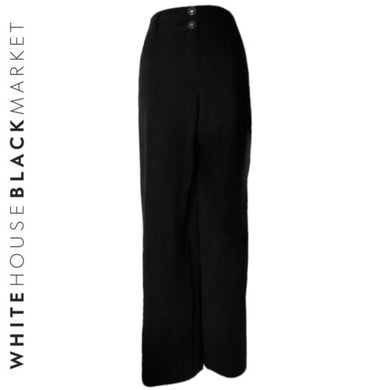 White House Black Market Trousers New Legacy Suit Wide Boot Leg Size Medium
