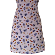 Load image into Gallery viewer, Vintage Grunge Dress Y2K 90s 00s Lavender Ditsy Floral Size Small