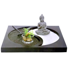Load image into Gallery viewer, Zen Garden Buddha Buddhist Tao Yin Yang Altar Meditation Buddhism Stress Relief