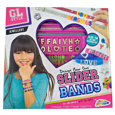 Bracelet Making Kit Jewellery Slider Bands Girls Set Kids Crafts Craft Band