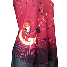 Load image into Gallery viewer, Anatopik Top Tunic Blouse Moon Stars France Designer Graphic Top Hat Size Small