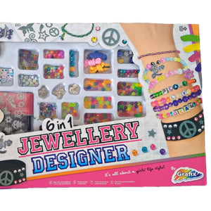 Jewellery Making Kit Girls Set Friend Kids Crafts Craft Beads Charms Paint Bands