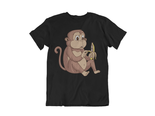 Monkey Tee in Black