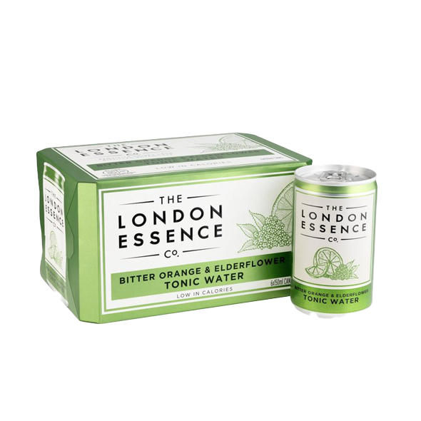 London Essence | Bitter Orange & Elderflower Tonic Water 6 x 150ml