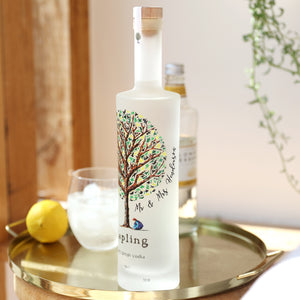 Personalised Sapling Vodka 35cl