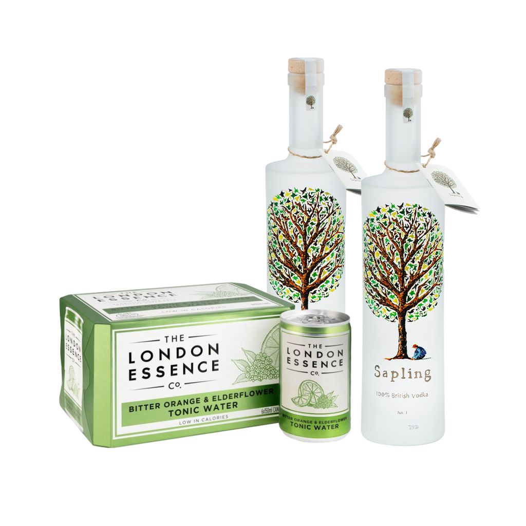 Sapling Vodka 70cl x 2 (with FREE tonic)