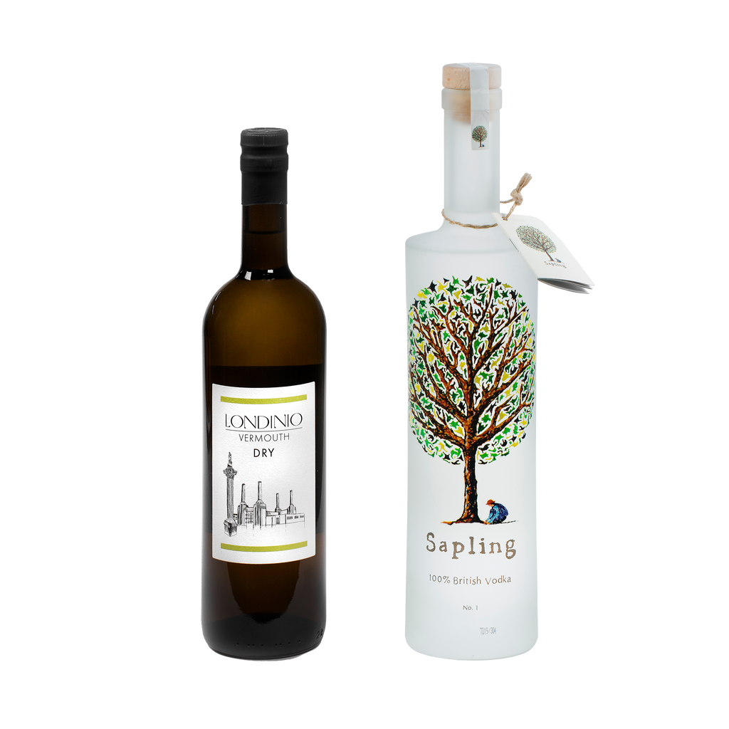 Sapling and Londinio Dry Vermouth