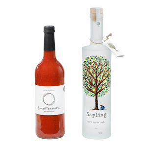 Sapling Vodka 70cl x Spiced Tomato Mix 75cl