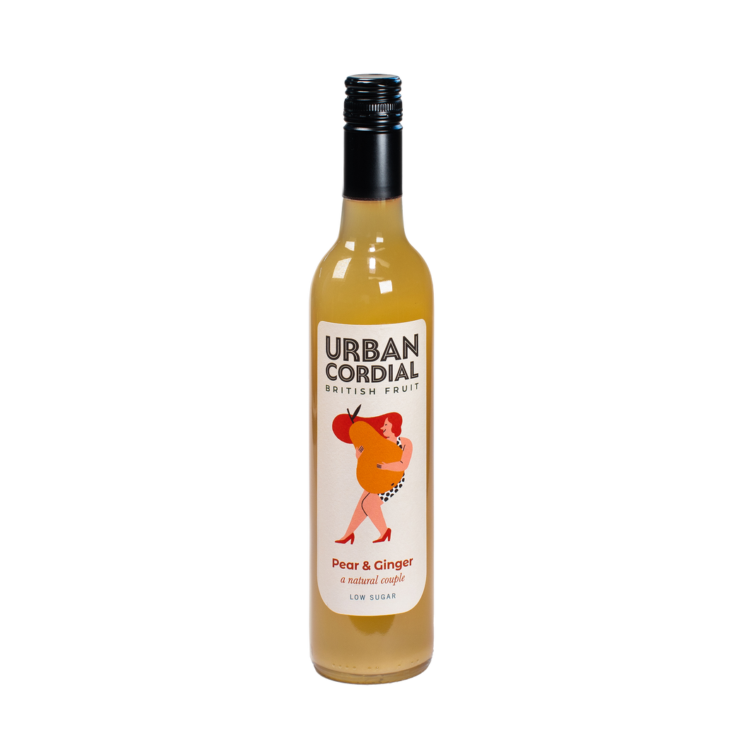 Urban Cordial 50cl Pear & Ginger