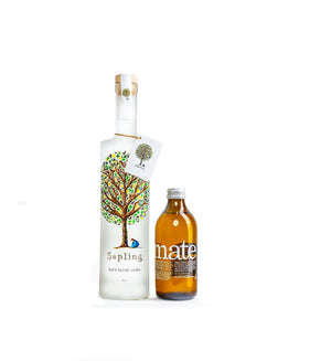 Sapling Vodka X ChariTea | Sapling 70cl Vodka & ChariTea Mate Tea 33cl (2 bottles)