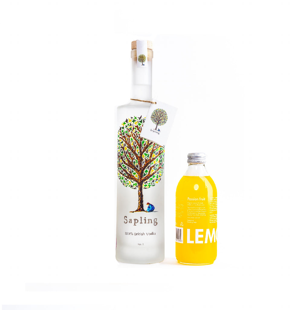 Sapling Vodka X Lemonaid | Sapling Vodka 70cl & Lemonaid Passion Fruit 33cl (2 bottles)