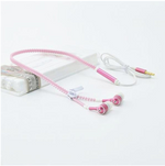 Glow In The Dark High Performance Zipper Earphone