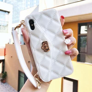 Handbag Fashion Phone Case With Bag Chain