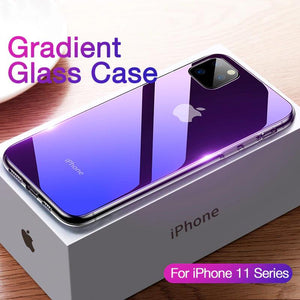 Luxury Gradient Glass Case for iPhone
