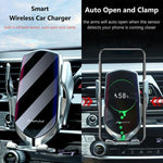 Wireless Charger Car Mount, Automatic Clamping, 10W / 7.5W Fast Charging