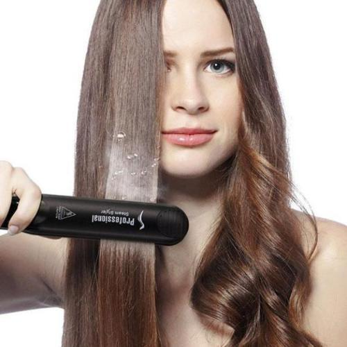 BEST SALE(FREE SHIPPING)-Luckylife™ Salon Professional Steam Hair Straightener
