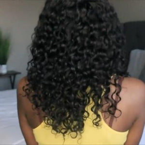 2019 New Style Special Sale Basic Cap Lace Frontal Curly Wig