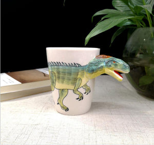 3D Dinosaur Funny Kids Cup Coffee Cup【BUY 2 FREE SHIPPING】