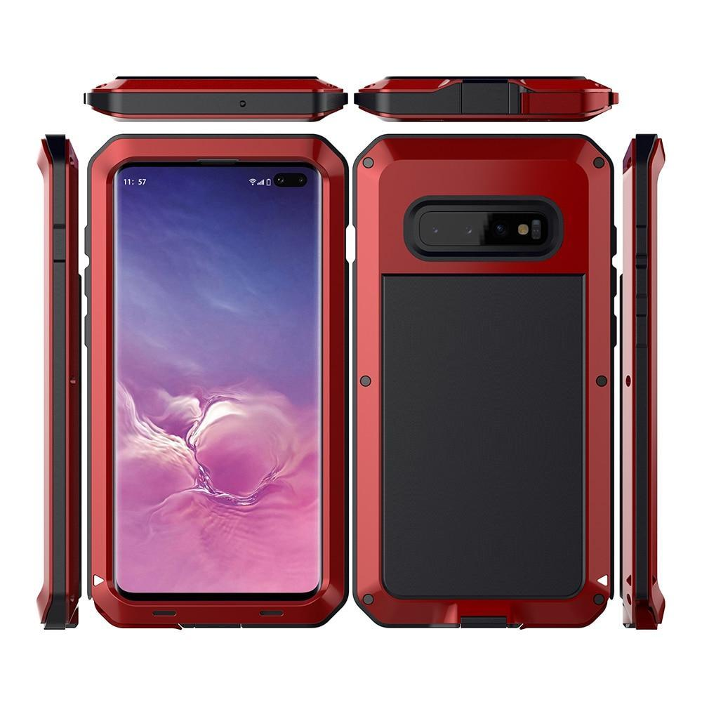 New Metal Aluminum Armor Shockproof Heavy Duty Case For Samsung iPhone Huawei