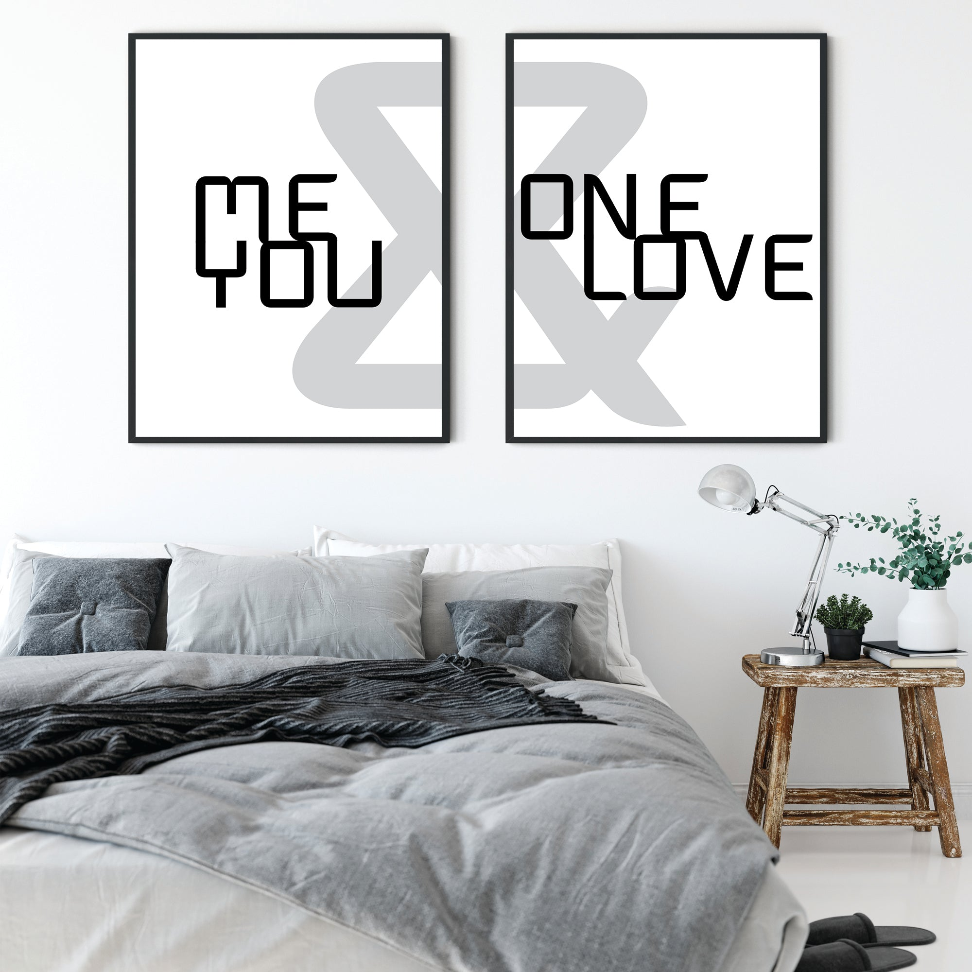 ME & YOU + ONE LOVE - Fine N Simple