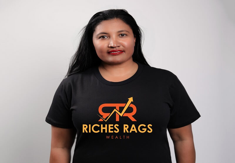 Riches Rags Wealth Tee