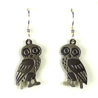 Owl Earring Side