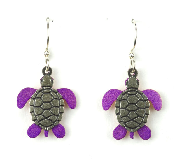 Layered Turtle Earrings