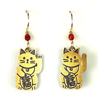 Good Luck Cat Earring