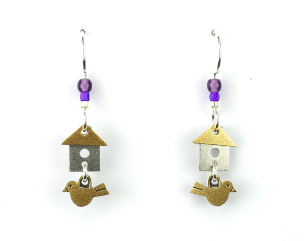 BIRDHOUSE SMALL AMETHYST