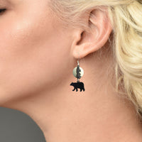 Yellowstone Bear Earrings
