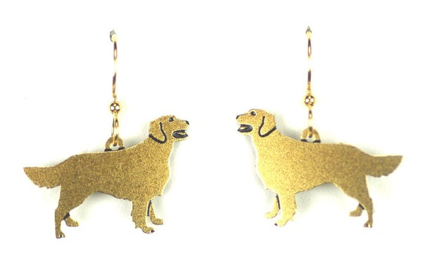 GOLDEN RETRIEVER BRASS