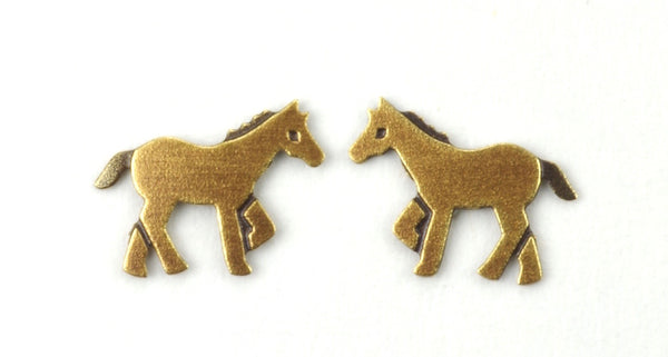 PONY POST BRASS