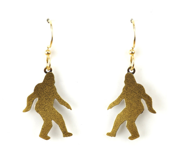 Sasquatch Earrings