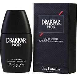 DRAKKAR NOIR by Guy Laroche - EDT SPRAY 1 OZ