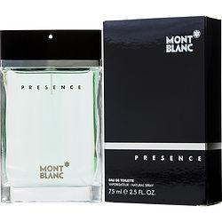 MONT BLANC PRESENCE by Mont Blanc - EDT SPRAY 2.5 OZ