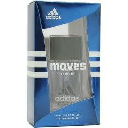 ADIDAS MOVES by Adidas - EDT SPRAY .5 OZ