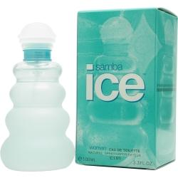 SAMBA ICE by Perfumers Workshop - EDT SPRAY 3.3 OZ