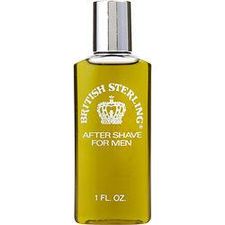 BRITISH STERLING by Dana - AFTERSHAVE 1 OZ (UNBOXED) (PLASTIC BOTTLE)