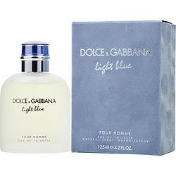 D & G LIGHT BLUE by Dolce & Gabbana - EDT SPRAY 4.2 OZ