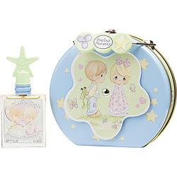 PRECIOUS MOMENTS by Air Val International - EDT SPRAY 1.7 OZ & METALIC LUNCH BOX