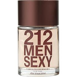 212 SEXY by Carolina Herrera - AFTERSHAVE 3.4 OZ
