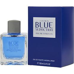 BLUE SEDUCTION by Antonio Banderas - EDT SPRAY 3.4 OZ