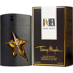 ANGEL MEN PURE MALT by Thierry Mugler - EDT SPRAY 3.4 OZ (LIMITED EDITION)