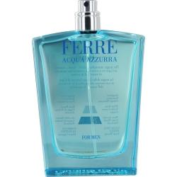 FERRE ACQUA AZZURRA  by Gianfranco Ferre - EDT SPRAY 3.4 OZ *TESTER